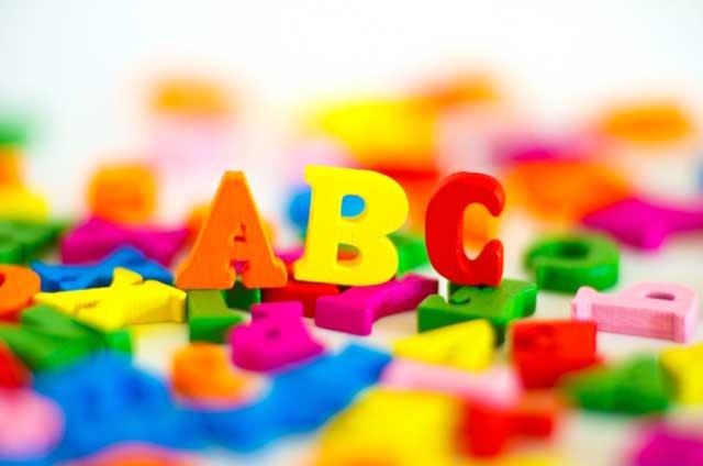 アルファベット読み書き